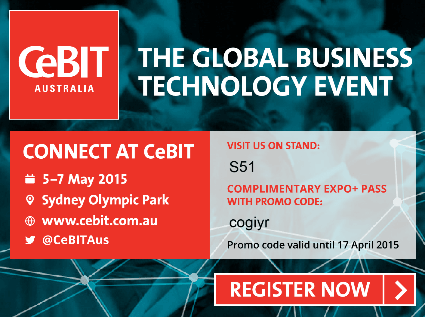 Cogito is exhibiting at CeBIT 2015